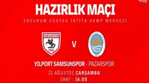 Samsunspor – Pazarspor CANLI YAYIN