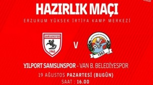 Samsunspor – Van  Büyükşehir CANLI YAYIN